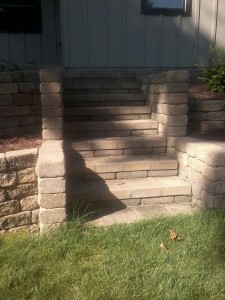 hardscape steps landscaping photos