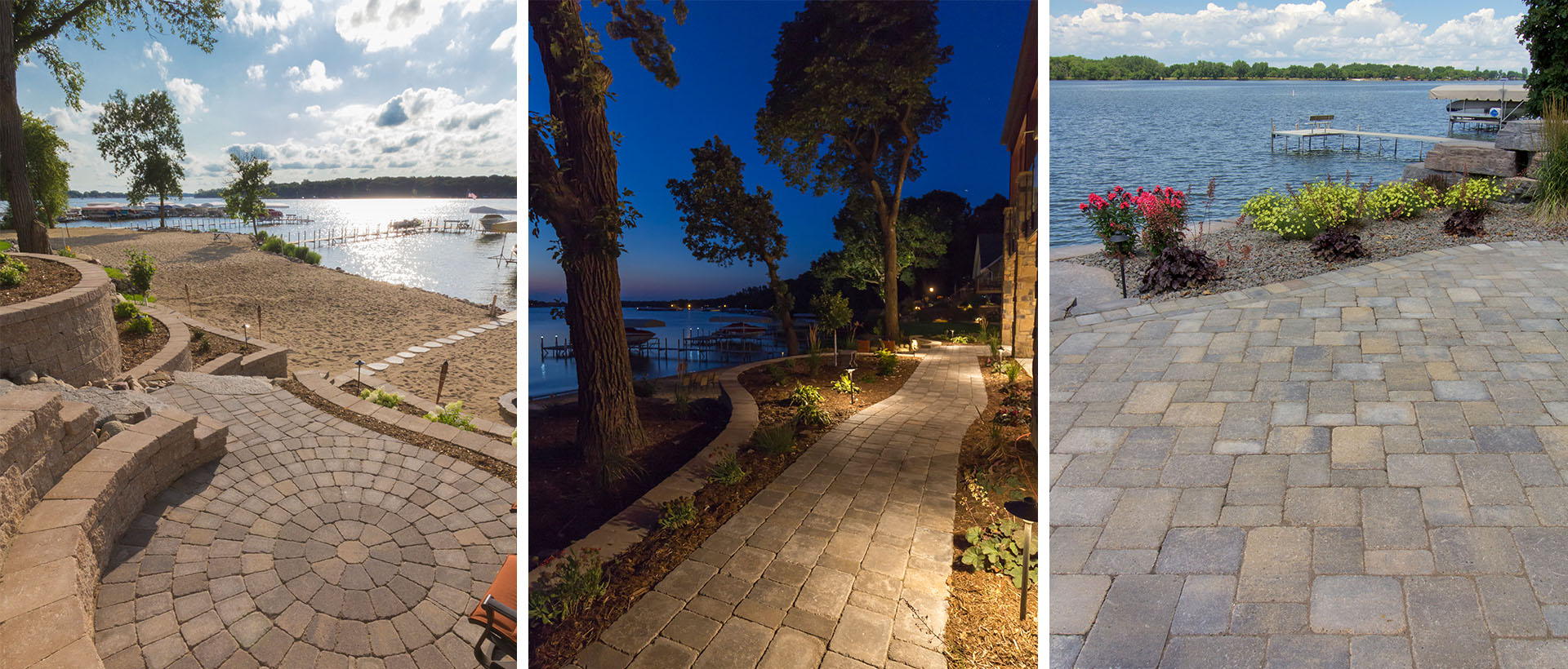 When your architecture calls for the look of a centuries-worn paver patio, pathway or drive, Lamont is a popular choice of property owners and designers because of its aged appearance and endless design opportunities.